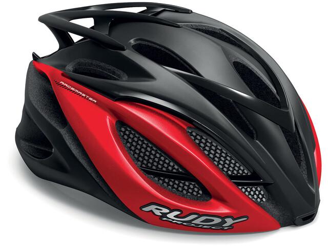 Rudy Project Racemaster Kask rowerowy czerwony/czarny